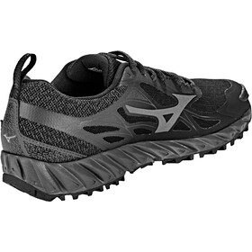 Mizuno Wave Ibuki GTX Zapatillas running Mujer, black/metallic shadow/magnet